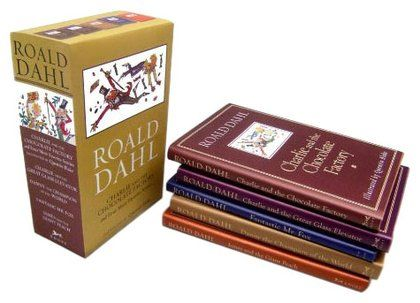 Roald Dahl Box Set (5 Books) - Free Shipping