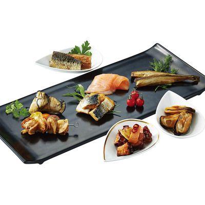 スモークサーモン・魚介類燻製オイル漬け詰合せ