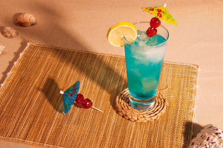 A brilliant, turquoise 1970s classic, the Blue Lagoon may look and sound tropical, but it's a deliciously tangy, citrus harmony of vodka, blue curaçao and lemonade.