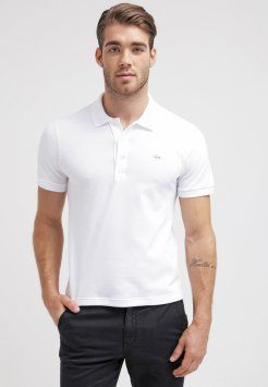 Lacoste - ELOQUENT STRETCH FIT - Poloshirt - blanc