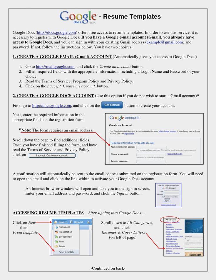 Frisch Google Docs Resume Builder Rezemo Resume Builder