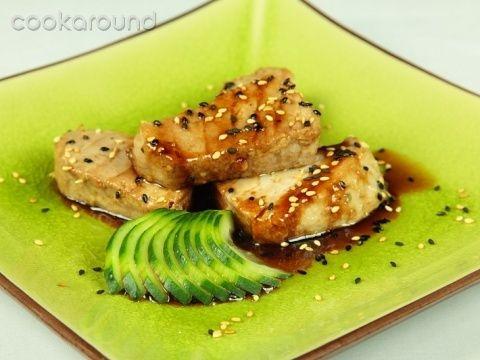 Tonno saltato con salsa teriyaki: Ricette Giappone   Cookaround