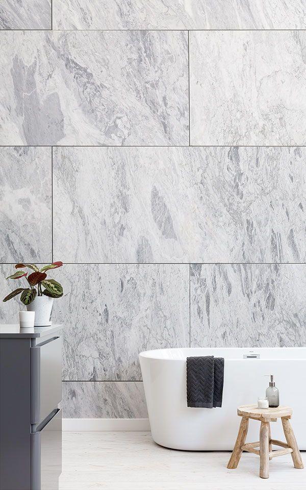 Marble Tile Wallpaper For Bedrooms More Muralswallpaper In 2021 Tile Wallpaper Mural Wallpaper Marble Wallpaper