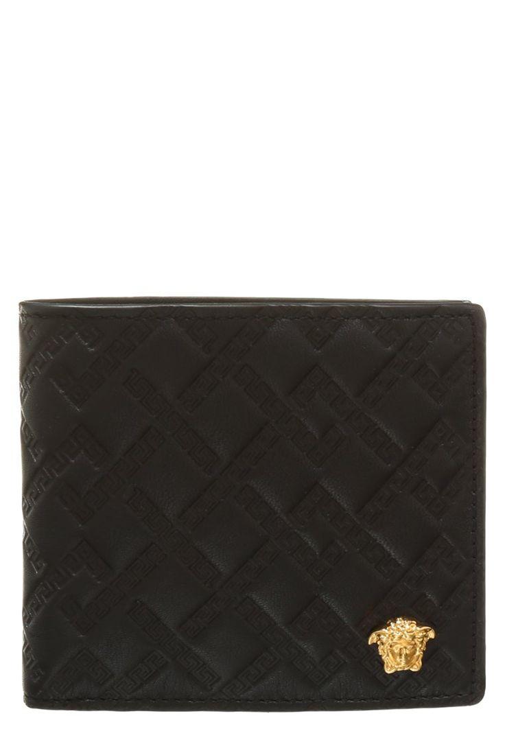 Versace PALAZZO Portfel black 939.00zł #moda #fashion #men #mężczyzna #versace #palazzo #portfel #męski #black #czarny #skóra #pikowany