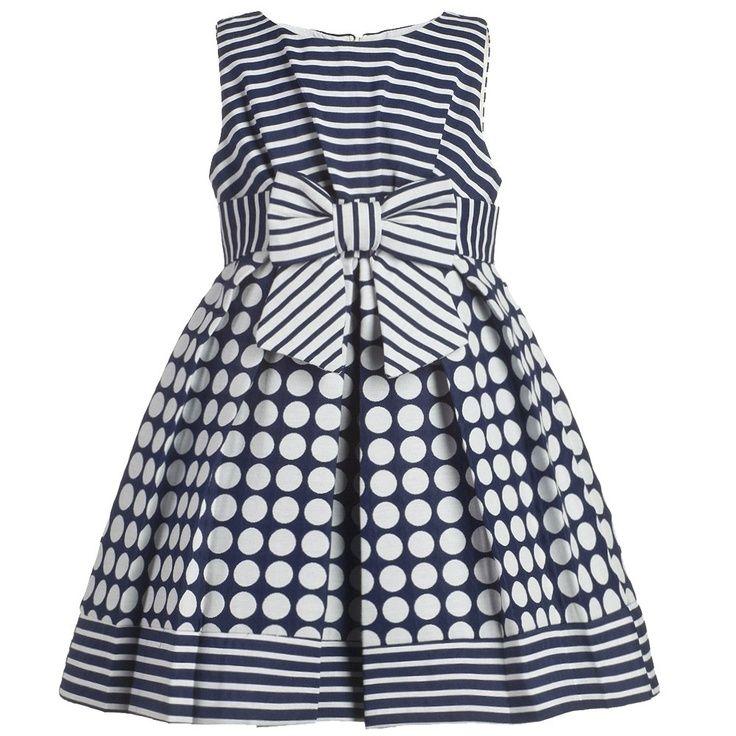 (2) April Dress - Kinder Kouture - Available in sizes 12mos-8yrs. #kinderkouture, #boutiqueclothing #kidsfashion | Aide | Pinterest