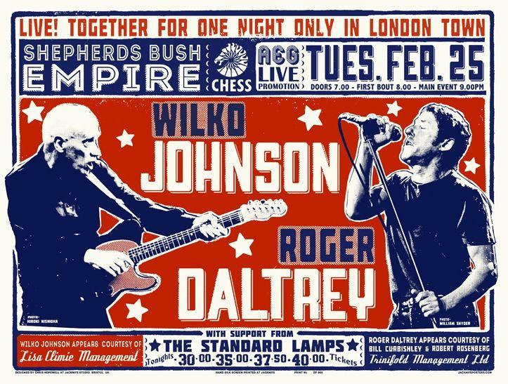 Wilko Johnson/Roger Daltrey (Shepherd's Bush Empire)