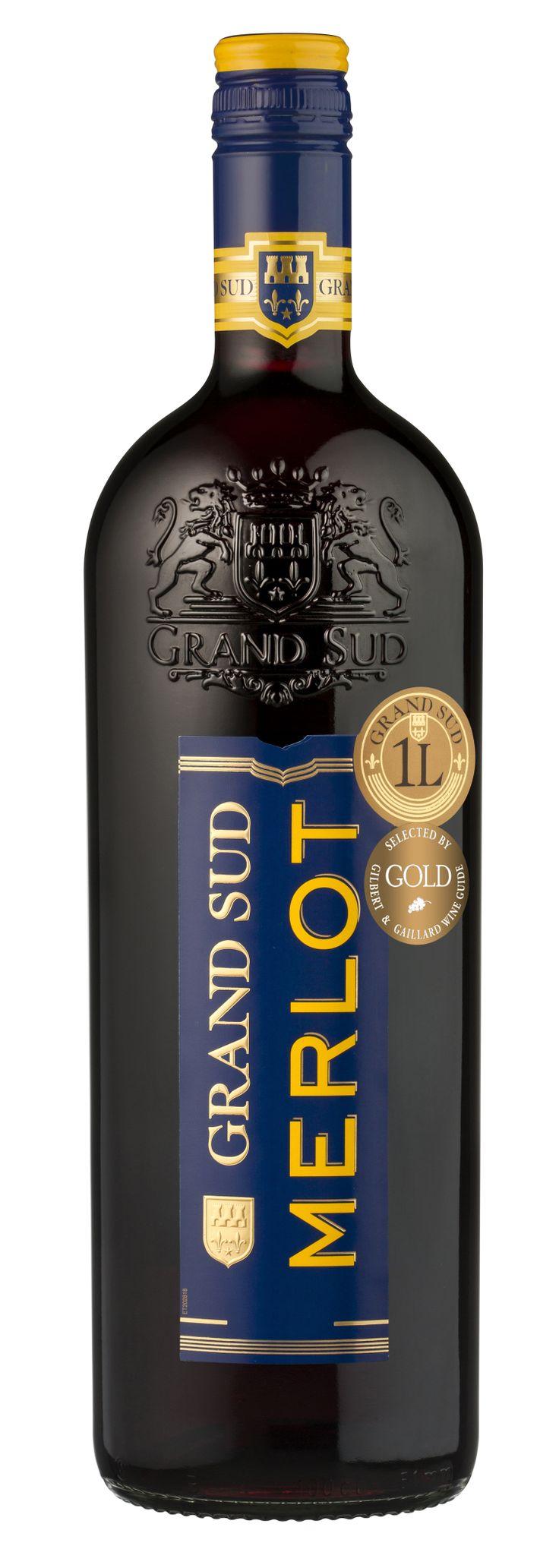 Ce #vin est le compagnon idéal de vos viandes blanches, volailles et grillades. #Merlot #GrandSud #2012