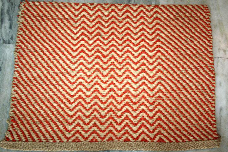 Turkish jute door mat Yoga Mat Floor Mat  #Turkish