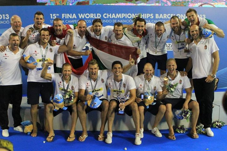 Hungary Man waterpolo team WC 2013 Barcelona ( it's the third :) 1973, 2003,2013!!!!) Tnx :D