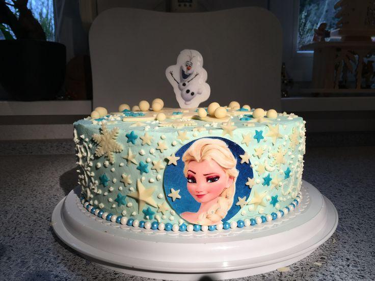 Geburstagstorte Elsa Frozen
