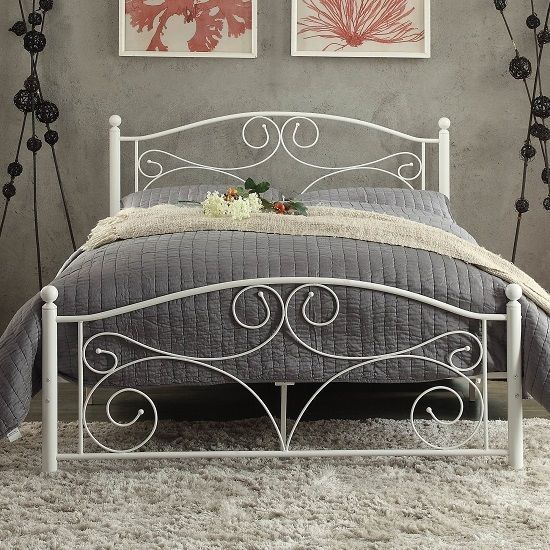 Best 25 wrought iron beds ideas on pinterest wrought iron headboard iron bed frames and - Reasons choose wrought iron bed ...