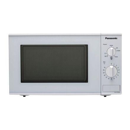 Microondas Panasonic NNK101WMEPG con capacidad de 20 litros y grill