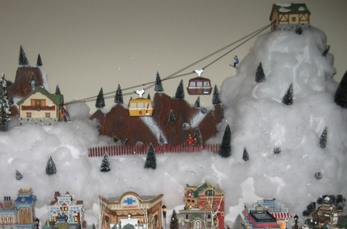 Christmas Village Ski Lift For Sale.Lee Mckitrick Ogiebay On Pinterest