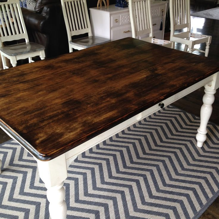 Staining A Kitchen Table   Cheap Kitchen Island Ideas Check More At Http://