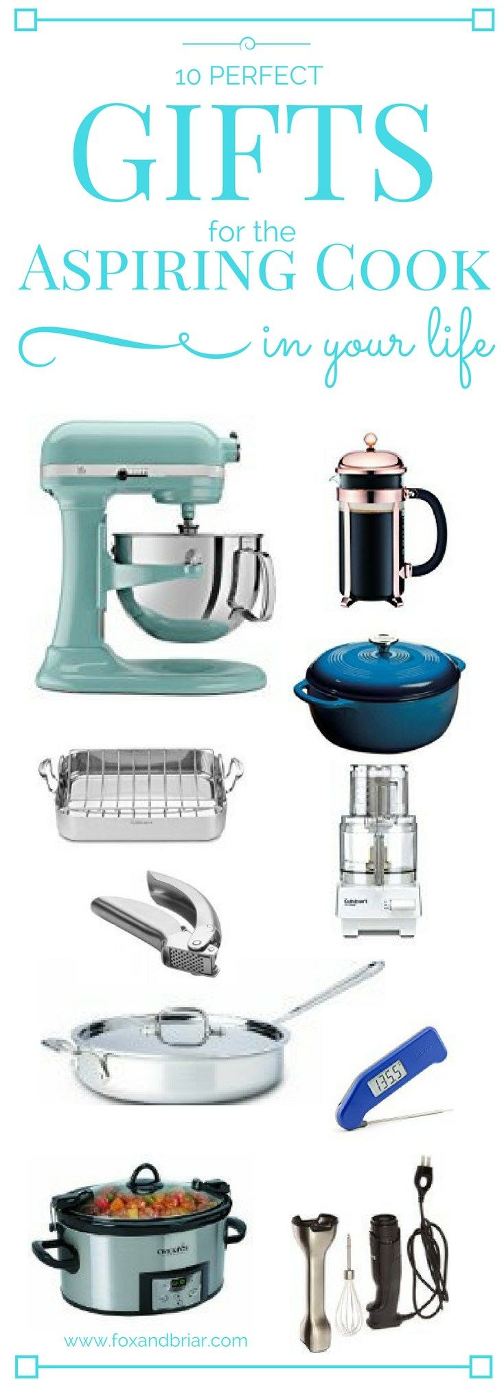 Christmas Gifts For Cooks Part - 46: 10 Perfect Gifts For The Aspiring Cook In Your Life