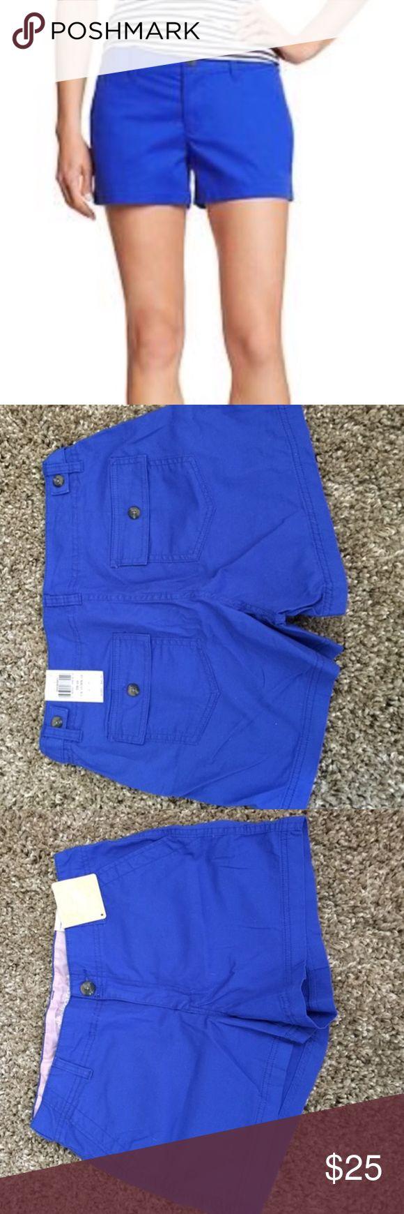 🆕NWT Dockers Blue Khaki Shorts NWT info coming soon! I have size 8 and 10. Dockers Shorts