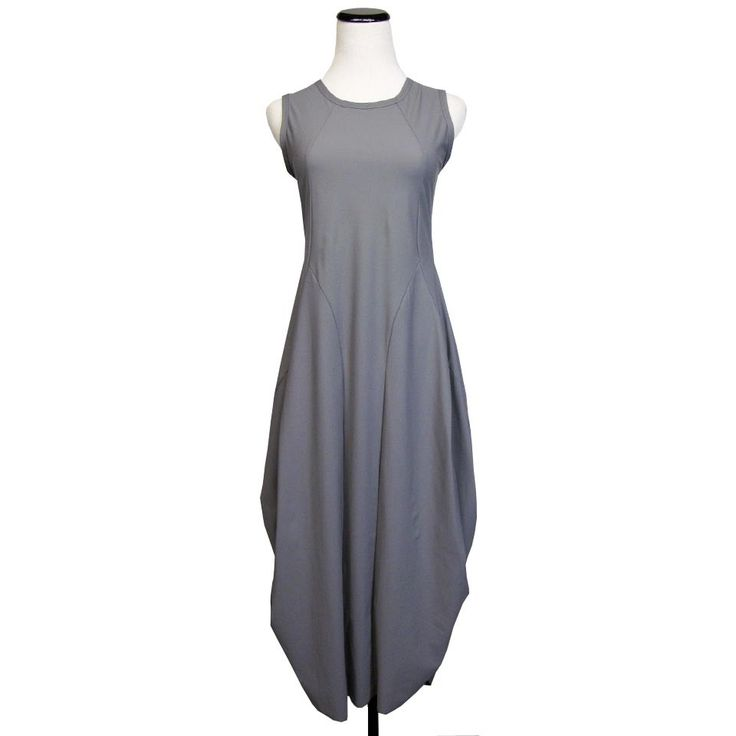 London Dress in Dove by Jason by Comfy USA