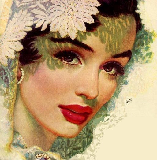 Edwin Georgi 1896-1964 ~ Pin up painter