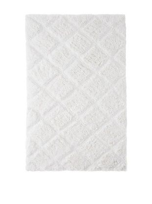 50% OFF Bella Letto Valley Carved Rug (White)