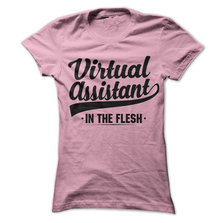 Virtual Assistant T-Shirts - Show them virtual assistants are real people. Let them see you in the flesh. Wear your t-shirt and generate leads for your VA business. - #VirtualAssistants #VirtualAssistant #VA