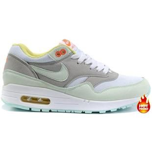 Nike Air Max 1 Women Shoes Grey/White/Offwhite Color