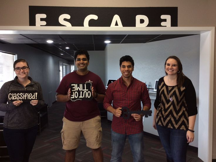 This trainee class from Mays Business School was unable to pass the final test in Classified!