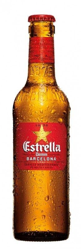 Cerveja Estrella Damm - Cervejaria Damm