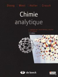 Douglas Skoog et Donald West - Chimie analytique. - Agrandir l'image