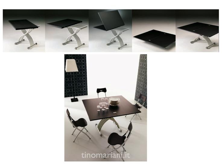 Vendita tavolini trasformabili di design - Tino Mariani