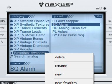 nexus 2 vst mac free