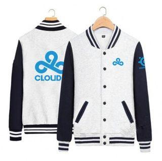 LOL jogo Cloud9 camisola da equipe para homens XXXL uniformes de beisebol