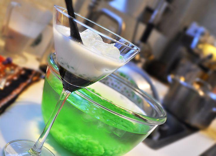 Cendol dawet cocktail glass