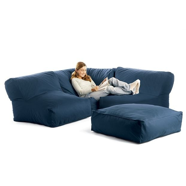 Bean Bag Sectional Sofa Products I Love Pinterest Bean Bags Sectional Sofas And Townhouse