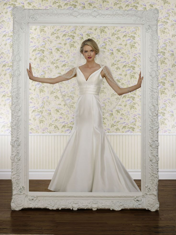 The Steven Birnbaum Collection- Keira wedding gown, available at Something White, A Bridal Boutique