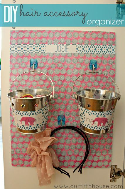 hair accessory organizer | Our Fifth House: DIY Hair Accessory Organizer & A Lilly Pulitzer Style ...