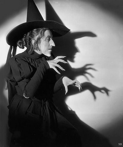 """Margaret Hamilton as the Wicked Witch of the West - """"The Wizard of Oz"""""""