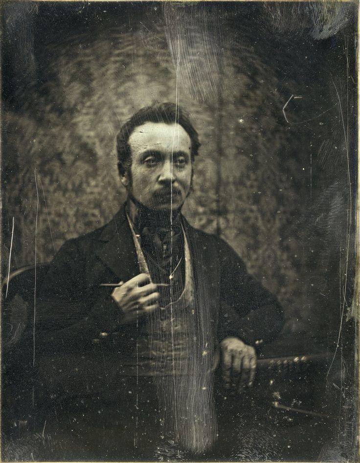 Joseph Prangey - Self-portrait, 1840