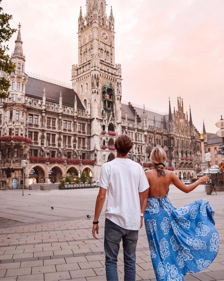 "6,197 Likes, 226 Comments – CHARLIE PAULY & LAUREN CLIFFE (Wanderers & Warriors – Travel Blog) on Instagram: ""Mornings in Munich. 😍 A lot of peop…"