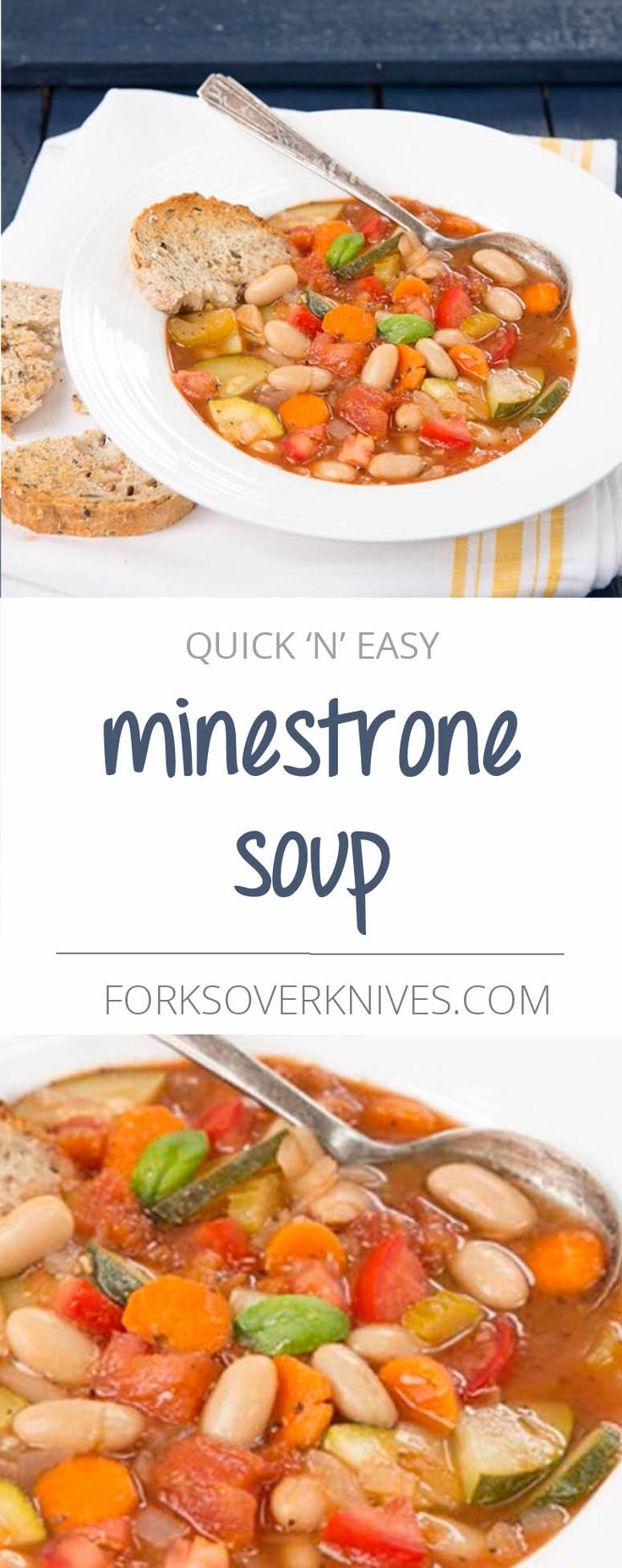 Ridiculously easy? Check. Incredibly flavorful and satisfying? Double check! This is a delicious, make-it-your-own Italian vegetable soup. Add any vegetables or beans you want to use up, or a small amount of cooked rice or pasta—just place it in the...  Read more