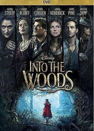 Into the woods [Videoupptagning] ... En modern tvist på de klassiska Bröderna Grimm-sagorna. Denna humoristiska musikal flätar samman Askungen, Rödluvan, Jack och Bönstjälken samt Rapunzel.  #dvd #film