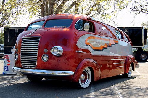 1937 Himsl Zeppelin Roadliner.  OMG why don't they build stuff like this anymore!!