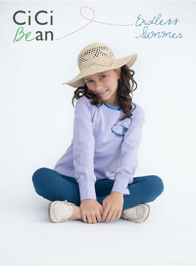 A perfect outfit for those crisp #spring mornings. -- Endless Summer Sweatshirt & Summer Night Skinnies | CiCi Bean - SS13 Collection | #tweens #tweengirl #tweenfashion