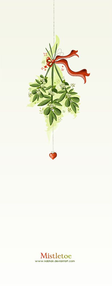 Mistletoe by NaBHaN via deviantART