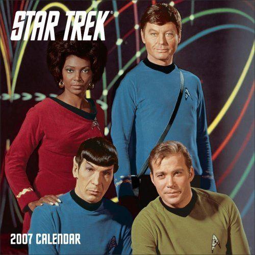 Star Trek  Calendar @ niftywarehouse.com #NiftyWarehouse #StarTrek #Trekkie #Geek #Nerd #Products