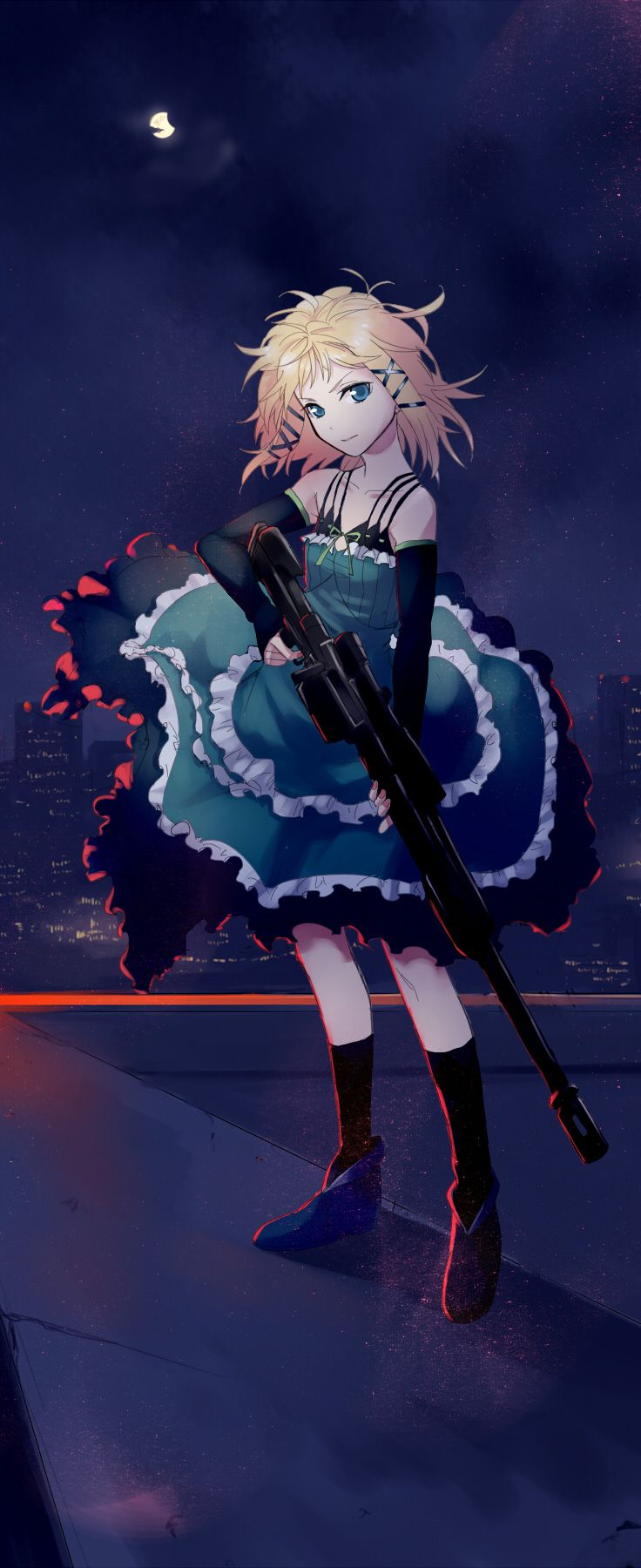 Black Bullet, Tina, by hinomoto madoka. If Ellen was an anime Character, this would be her.