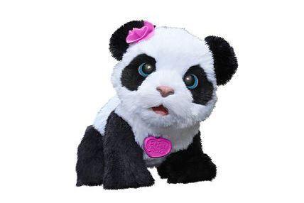 Pehmolelut - FURREAL PANDA POMPOM - Keravan Muovi ja Lelu Oy Ruoki Pom Pom Pandaa, leiki sen kanssa ja katso, kun se kävelee aivan kuin oikea panda.  Pom Pom päästää suloisia pandan ääniä ja vastaa ääneesi.  Kun otat pandan syyliisi, se haluaa syödä. Kun panet sen istumaan, se haluaa leikkiä.   Ikäsuositus 4+  Sisältää kokeiluparistot 4xAA  FurReal friends
