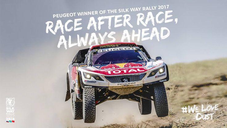 To Silk Way Rally ξεκίνησε από την Ρωσία και μετά από δύο εβδομάδες ολοκληρώθηκε στην Κίνα. Συγκεκριμένα, στις 7 Ιουλίου ξεκίνησαν από την Μόσχα δύο περσινών προδιαγραφών Peugeot DKR (όπως