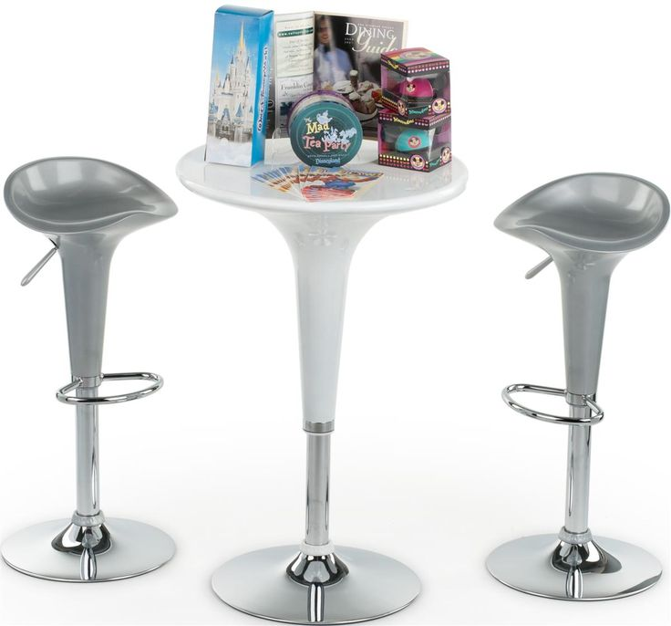 20 best images about portable bars for trade shows for Round cocktail table with stools