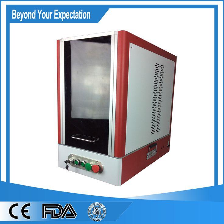 High Configuration 30W Fiber Laser Etcher Machine for Silver/Gold