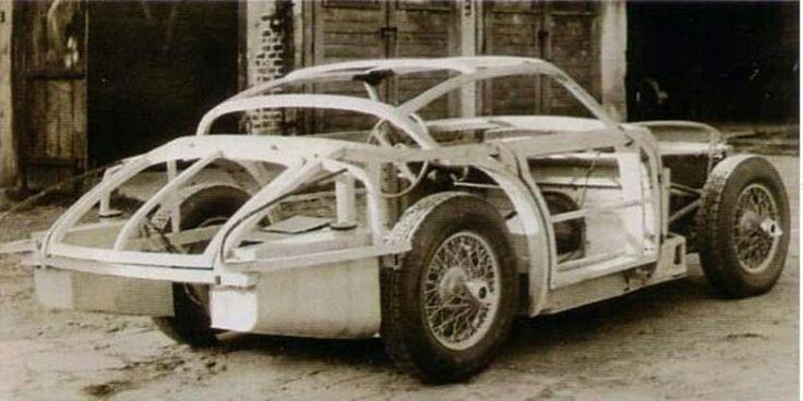 JK 2500, without engine, Czechoslovakia, 50s, creater Julius Kubinsky
